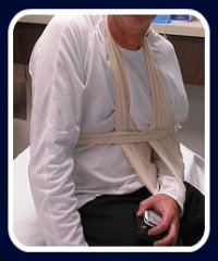First Aid for dislocated shoulder
